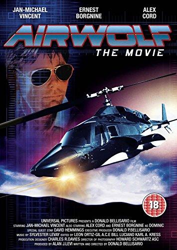 Airwolf The Movie [DVD] [1984] starring Jan Michael Vincent