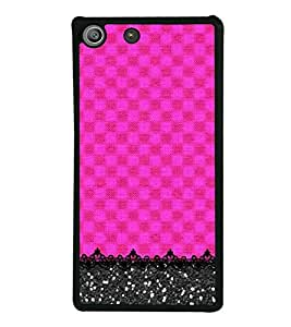 Fiobs Designer Back Case Cover for Sony Xperia M5 Dual :: Sony Xperia M5 E5633 E5643 E5663 (jaipur rajasthan african america cross pattern)