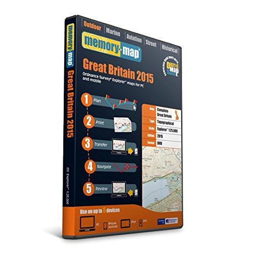 Memory Map GB OS Explorer Standard DVD - Black