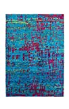 Casa Padrino Designer Seidenteppich Vintage Look Lapis - Handgeknüpft - Möbel Teppich Seide, Grösse:200 x 290 cm