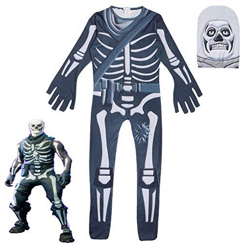 (HLNT Neue zusammengespritzte Cosplay Geist Gesicht Kleidung Party Stil Kostüm Halloween Kinder zeigen Kostüm)