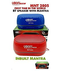UBON MNT-2805 Bluetooth Speaker with Inbuilt Mantra