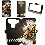 Flip Pu Leather Carcasa Cover para Funda Primux Beta 3 Funda XLH
