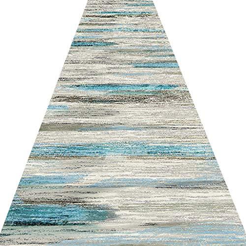 SESO UK- Teppich-Läufer für Flur Treppen, Nordic kommerzielle Haushalt Hotel Lange Halle Teppich Runner (Size : 80×500cm)