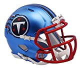 NFL Tennessee Titans Alternate Blaze Speed Mini Helm