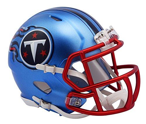 NFL Tennessee Titans Alternate Blaze Speed Mini Helm