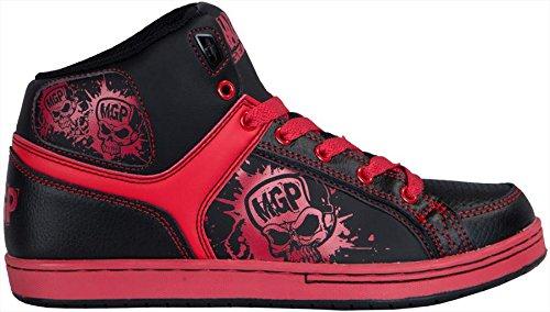 Madd Gear, Scarpe da Skateboard donna Rosso (Rosso/Nero)