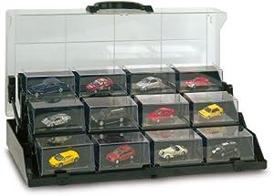 Ricko 9838007 - Maletín-Expositor de Coches en Miniatura (incluidos)