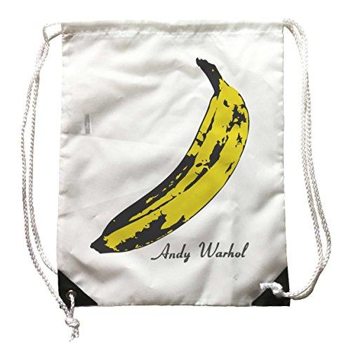 Rucksack Andy Warhol, Rucksack Banane Pop Art, velvet underground, Musik rock (Bananen-musik)