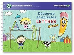 Leapfrog - 81477 - Livre interactif Ecris Les Lettres - Lecteur non inclus et fonctionne uniquement avec Mon Lecteur Leap