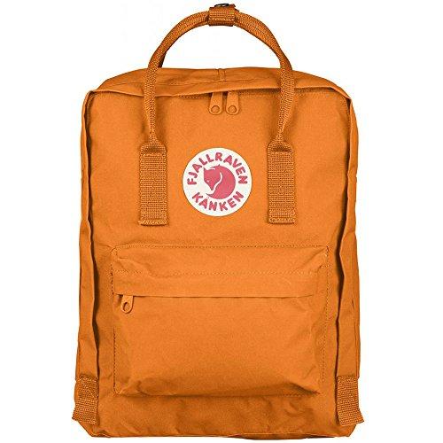 Fjällräven Unisex Notebooktasche Kanken, Burnt Orange, 13 x 27 x 38 cm, 16 Liter, 23510