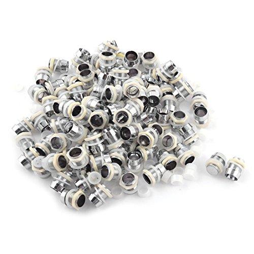 LED-Halter-TOOGOOR100-x-Silber-Ton-LED-Lampen-Halter-Einfassungen-fuer-10mm-Lichtemitterdiode