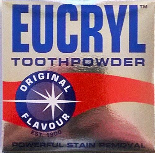 Eucryl Zahnpulver Ursprüngliche 6 x 50 g