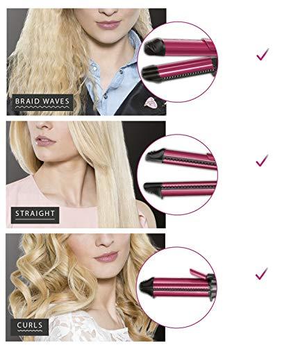 Plancha para el cabello Rowenta Fashion Stylist 3 en 1