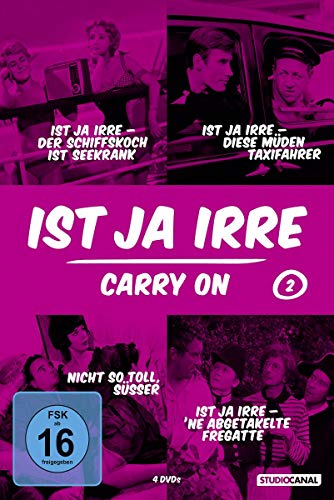 Ist ja irre - Carry on, Vol. 2 [4 DVDs]