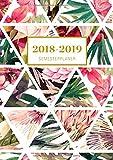 Semesterplaner 2018/2019 A5: Lilly Design Oktober 2018 - Dezember 2019, Studienplaner 1 Woche auf 2 Seiten, Dein Campustimer und Semesterkalender für das neue Studienjahr mit inspirierenden Zitaten!