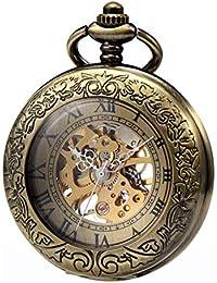 Amazon.es  steampunk - Relojes de bolsillo   Hombre  Relojes 1b7c432c7617