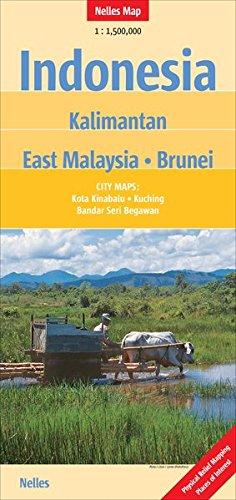 INDONESIA : KALIMANTAN EAST MALAYSIA BRUNEI ED 2011