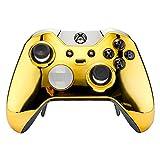 eXtremeRate Frontgehäuse für Microsoft Xbox One Elite Controller mit Daumenstick-Akzent-Ringen