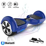 COLORWAY Hoverboard Elettrico App Scooter a 6.5 Pollici con Bluetooth & LED Auto...