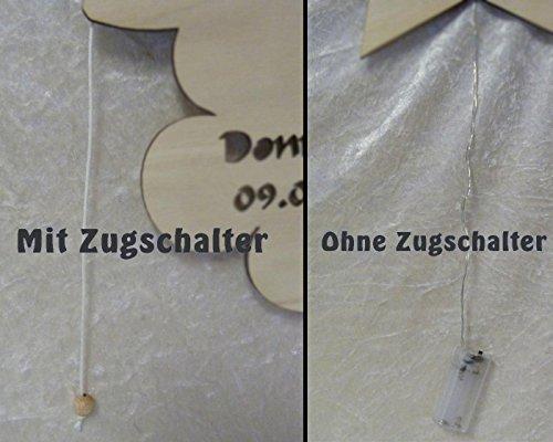 Gartenschild Schwan Liebe, Geschenk mit Namen - 4