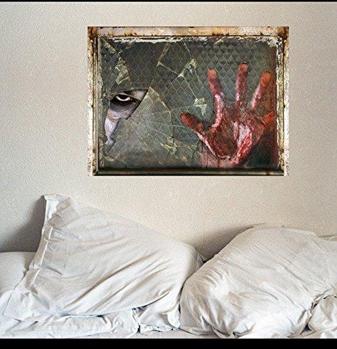 XiaoGao Halloween - Wand im Wohnzimmer tv Hintergrund Wand Dekoration Wand Aufkleber 45 * 60cm