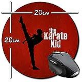 The Karate Kid Jackie Chan Jaden Smith Tapis De Souris Ronde Round Mousepad PC