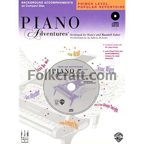 Piano Adventures - Primer Level CD Popular Repertoire CD