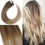 YoungSee Tape Extension Balayage Marron Fonce et...