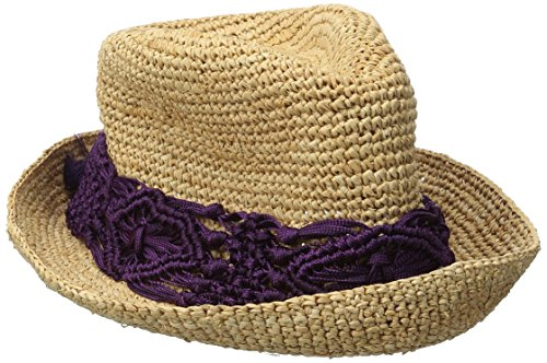 physician-endorsed-womens-malia-crochet-raffia-hat-with-macrame-trim-purple-one-size