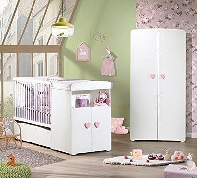 Baby Price New Basic cajón para cama bebé compuesto escalable 120x 60cm