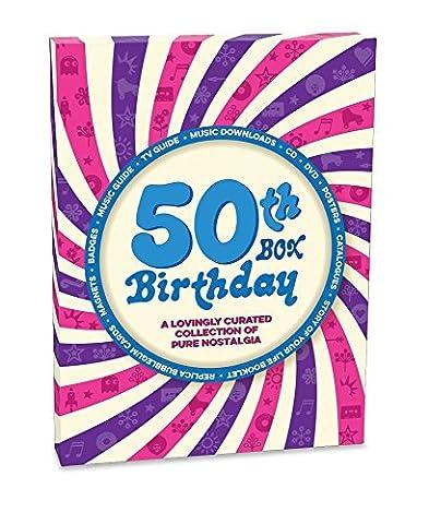 RetroCo 50th Birthday Retro Memorabilia Collection Gift Box - Spiral