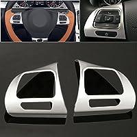 Alamor Acero Anillo Rueda Cromo Cubierta para Volkswagen VW Golf Mk6 Jetta Passat B7 CC