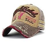 HBSHE 2018 Männer Und Frauen-Baseballmütze-Unisexbuchstaben-Hip Hop-Hut-zufällige Justierbare Hüte