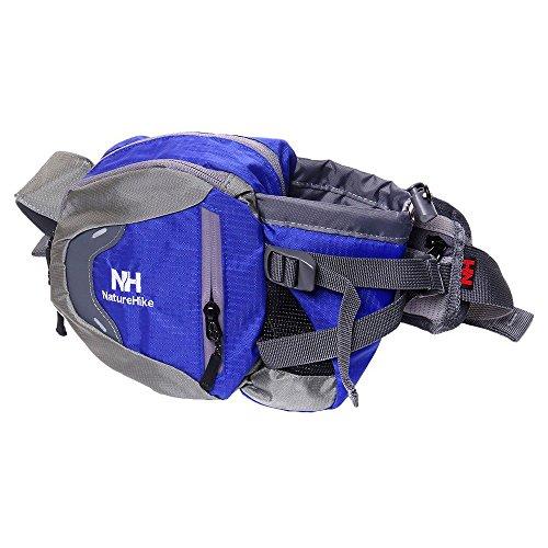 Wasserflaschen Taschen - NatureHike Wasserdicht Guerteltasche fuer Radfahren Camping Kletter (Blau) Blau