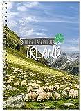 Carnet de voyage Irlande soi-même écrire/Carnet A5Classeur avec 120pages/packliste, Citations de Plan de voyage Fun Facts, Voyage de Challenges...–de Sophies Carte Monde