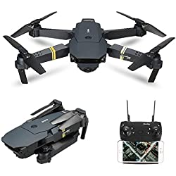Quadcopter, EACHINE E58 Cuadricópteros Mini Drone RC Drone Plegable con HD