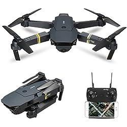 Quadcopter, EACHINE E58 Cuadricópteros Mini Drone RC Drone Plegable con HD