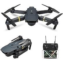 Quadcopter, EACHINE E58 Cuadricópteros Mini Drone RC Drone Plegable con HD cámara 2.0MP 720P de gran angular Control de altura Móviles APP WIFI FPV