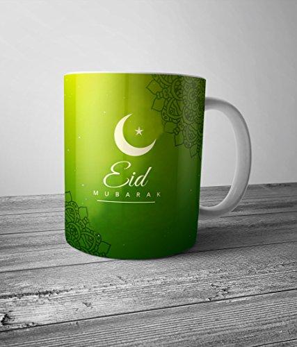 Mugs || Eid Ramjan Ramadan Mubarak Muslim Allah || Designer Ceramic Coffee...