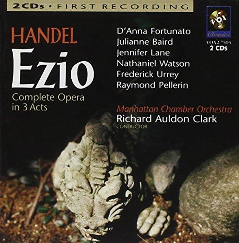 Händel: Ezio (Gesamtaufnahme) -