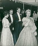 Fotomax Vintage Photo de Elizabeth Bowes-Lyon et Prince William
