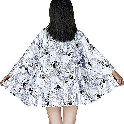G-like Kimono japonés Mujer - Autumn Harajuku Estilo