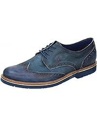 Manitu Herren-Sandalette Blau 610235-5, Grösse 46