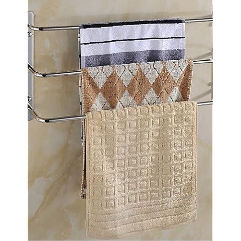 Contemporaneo di acciaio inossidabile 3 barre porta asciugamani