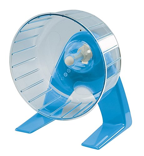 Ferplast silent hamster wheel on stand, 11x11x14m 1