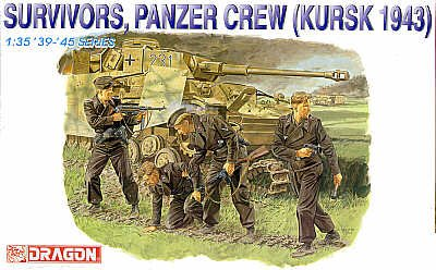 Survivors Panzer Crew 1:35 Survivor-batterie