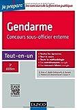 Gendarme - Concours sous-officier externe - 3e éd. - Tout-en-un