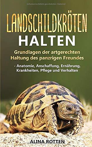 Landschildkröten halten: Grundlagen der artgerechten Haltung des panzrigen Freundes - Anatomie, Anschaffung, Ernährung, Krankheiten, Pflege und Verhalten