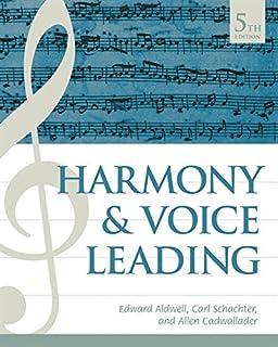 Harmony & Voice Leading (133756057X) | Amazon price tracker / tracking, Amazon price history charts, Amazon price watches, Amazon price drop alerts